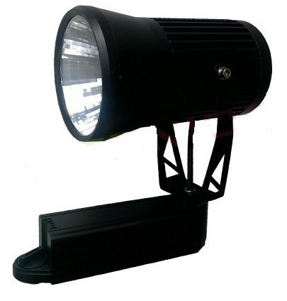 Projecteur blanc interieur cob 25w led for Projecteur interieur