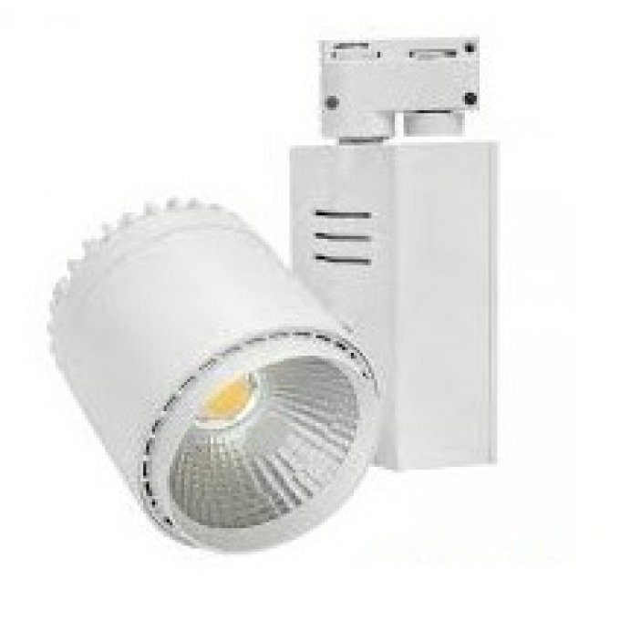 Projecteur blanc interieur cob 35w led for Projecteur led interieur