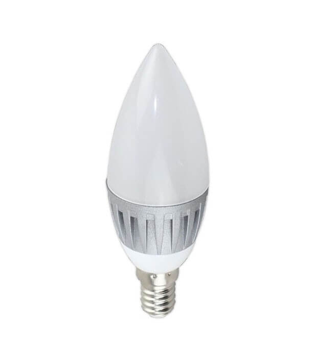 Ampoule LED bougie - 5W - 180°