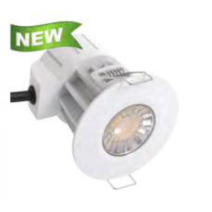 encastrable 8w dimmable protection Feu