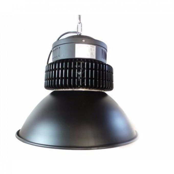 Cloche Industrielle LED 150W 120 NOIR